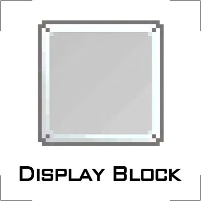 Display Block x6