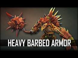 Heavy Barbed Armor Set (Bristleback Set)