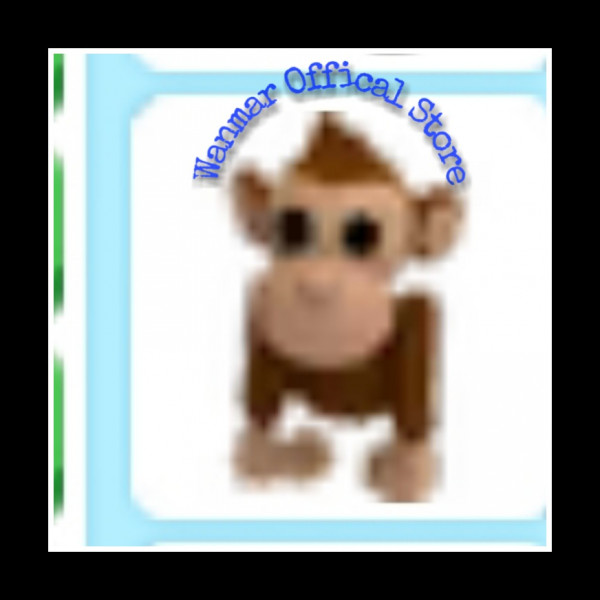 Full grown monkey rare|adopt me