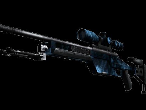 SSG 08 | Abyss (Mil-Spec Sniper Rifle)