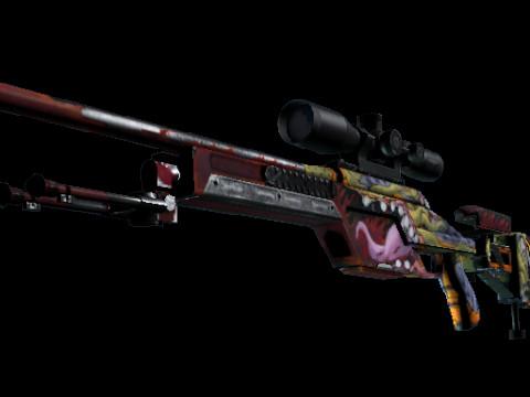 SSG 08 | Bloodshot (Field-Tested)