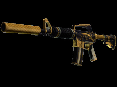 M4A1-S | Golden Coil (Covert Rifle)