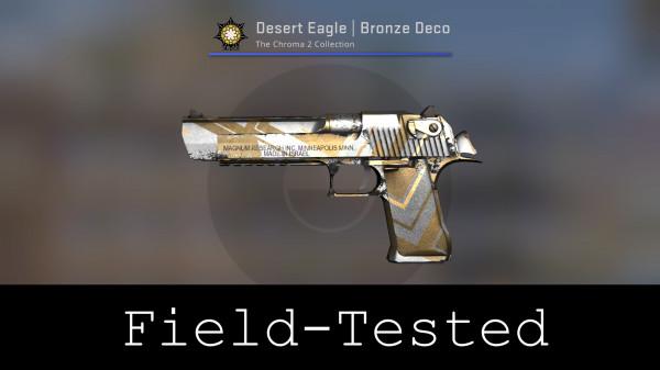 Desert Eagle | Bronze Deco (Field-Tested)
