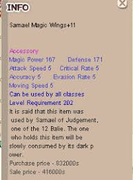 Samael Magic Wings + 11 (Normal)