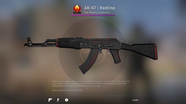 AK-47 | Redline (Classified Rifle)
