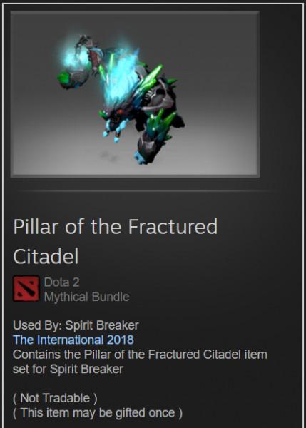 Pillar of the Fractured Citadel (Spirit Breaker)