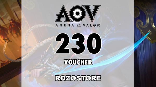 Top Up 230 Voucher