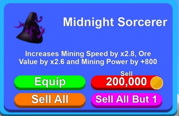 Midnight Sircerer | Mining Simulator