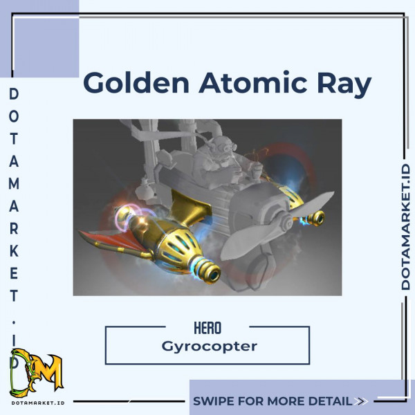 Inscribed Golden Atomic Ray Thrusters (Immortal Gyrocopter)
