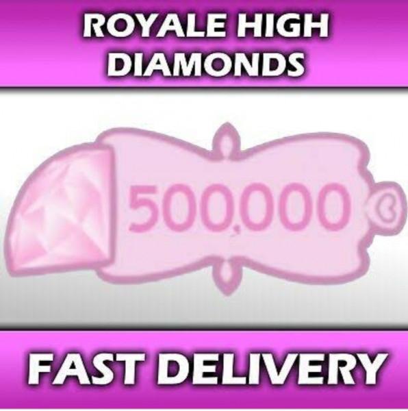 100000 Royale high Diamonds