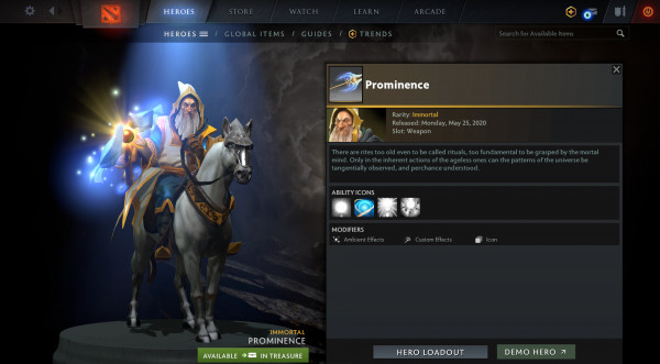 Prominence (Immortal Keeper of the Light)