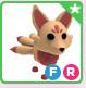 Kitsune FR (Fly Ride) Pet Adopt Me