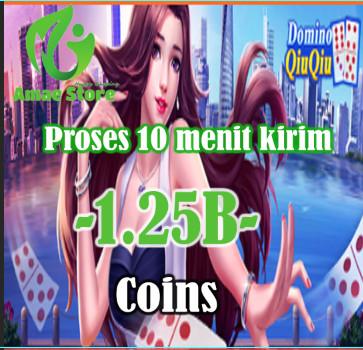 Domino QiuQiu 1.25B Coins