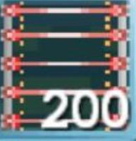 200 Laser Grid