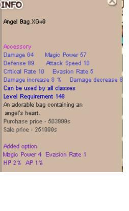 Angel Bag Xg+9