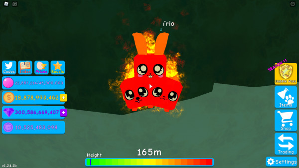 Magma Trio (bubble gum simulator) magma pet