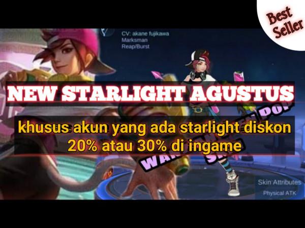 Starlight + 875 Diamonds