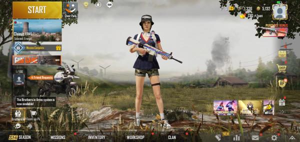 AKUN PUBG SKIN M416 EXTREME RACING (26)