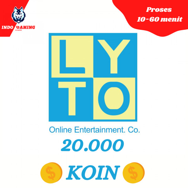 Lyto Game-On LytoCredit 65.000 - 20.000 Koin