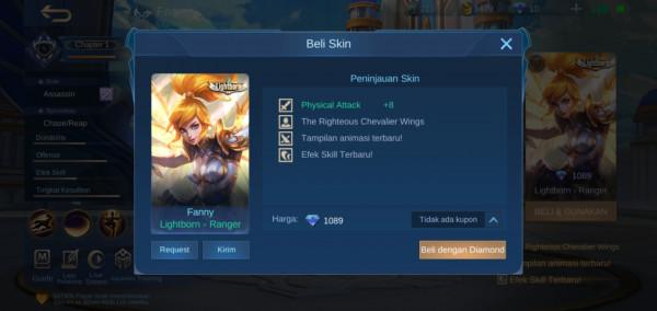 Lightborn - Ranger (Fanny Lightborn Skin)