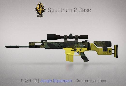 StatTrak™ SCAR-20 | Jungle Slipstream