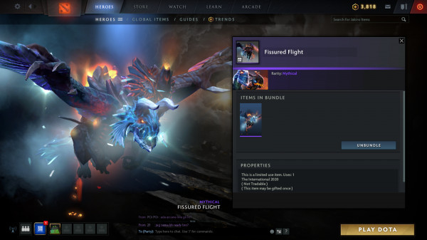 Fissured Flight (Jakiro Set)