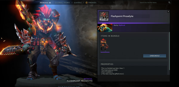 Flashpoint Proselyte (Huskar Set)