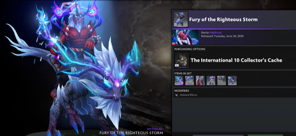 Fury of the Righteous Storm (disruptor set)