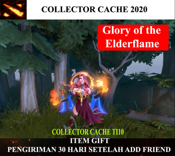 Glory of the Elderflame (Lina CC TI10)