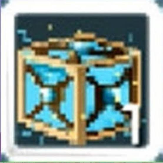 Ancestral Tesseract of Dimension (Blue)