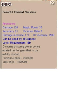 Powerful Emerald Necklace (PEN)