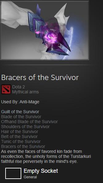 Bracers of the Survivor (Anti Mage)