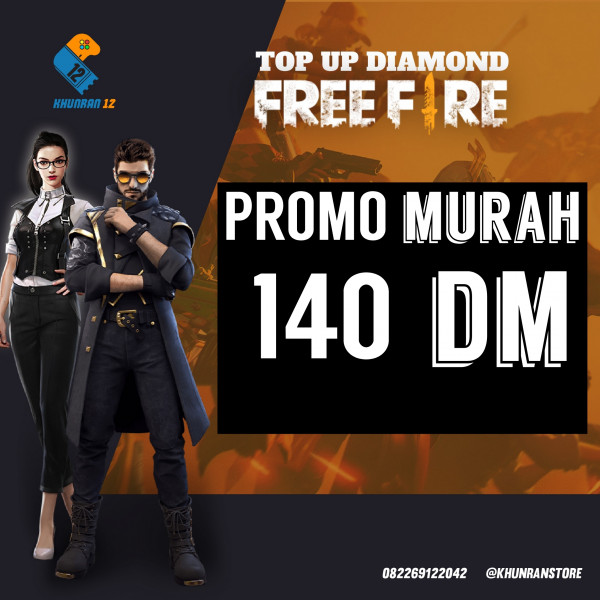 Top Up 140 Diamonds