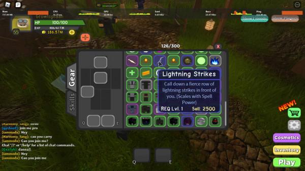 Lightning Strikes - Dungeon Quest