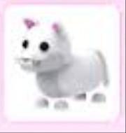 Adopt me snow puma pet