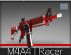 Counter Blox M4A4 Racer