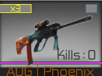 Counter Blox AUG Phoenix Stat Track
