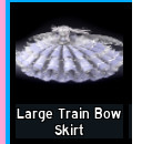 Large Train Bow Skirt - Royale High ( BACA DESK)