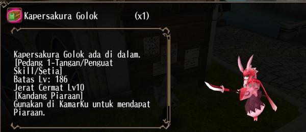 Pet Kapersakura Golok limited event hanami