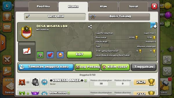 Clan Level 11 DESA WISATA LBR