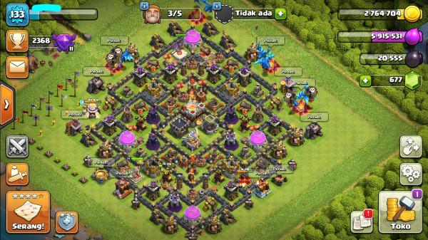 Town Hall 11 BK Lv20 AQ Lv22 GW Lv7 Login Google Play