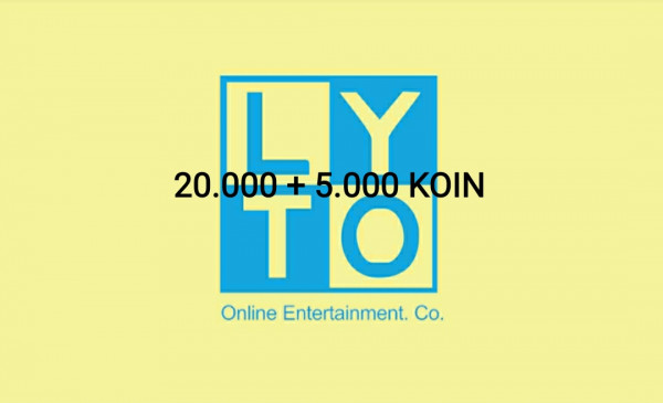 Lyto Game-On LytoCredit 65.000 - 20.000 Koin