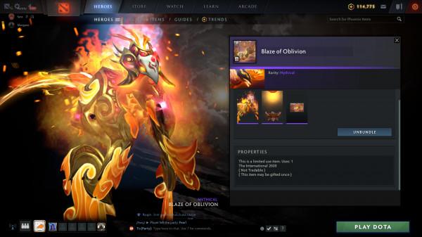 blaze of Obilivion (Phoenix CC2020)