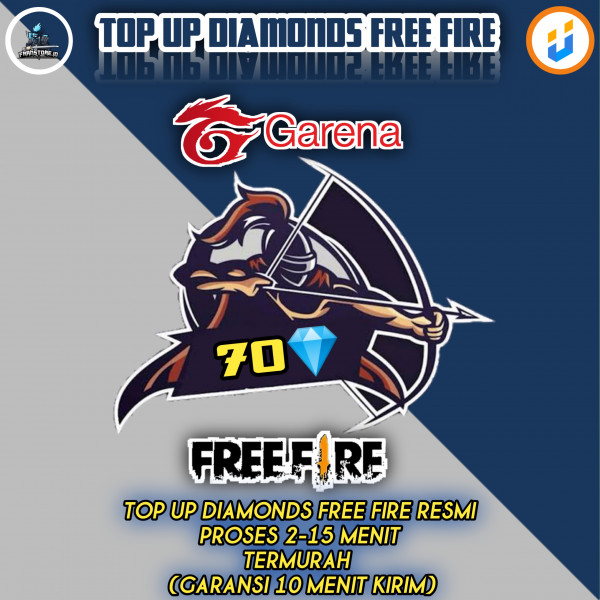 TOP UP 70 Diamond Free Fire Express