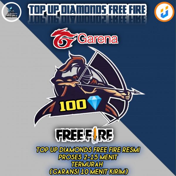 TOP UP 100 Diamond Free Fire Express