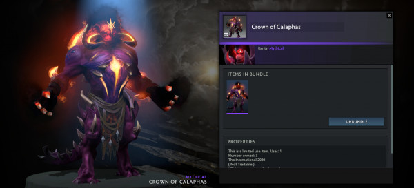 Crown of Calaphas (Shadow Demon TI10)