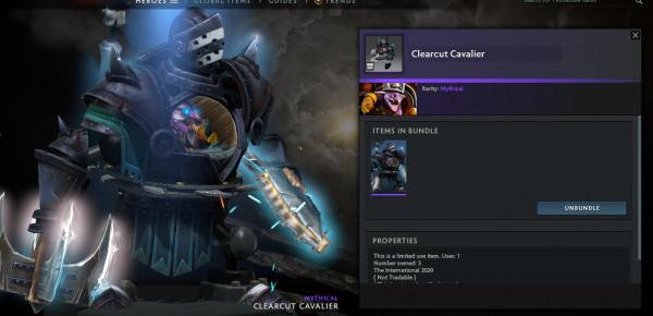 Clearcut Cavalier (Timbersaw TI10 Set)