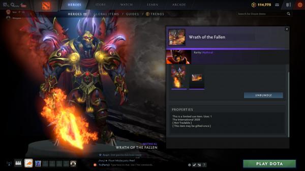 Wrath of the Fallen (Doom CC2020)