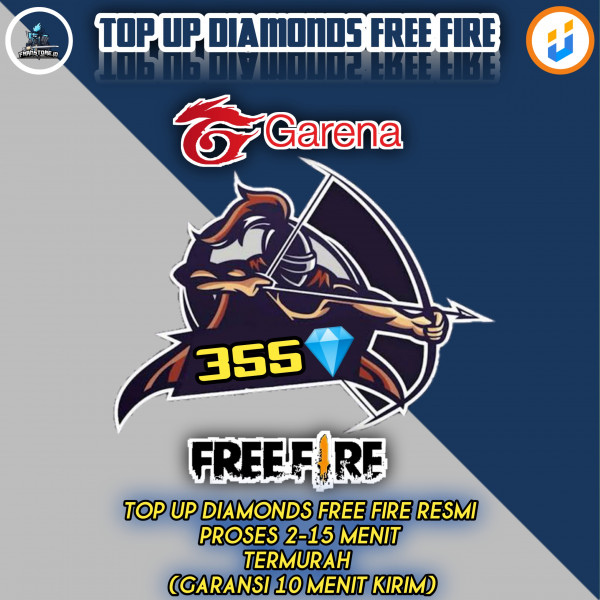 TOP UP 355 Diamond Free Fire Express