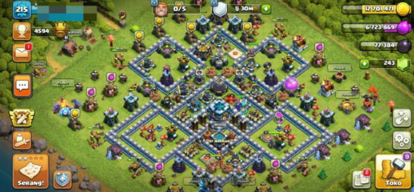 Clash of Clans SC ID-TH 13 Level 215